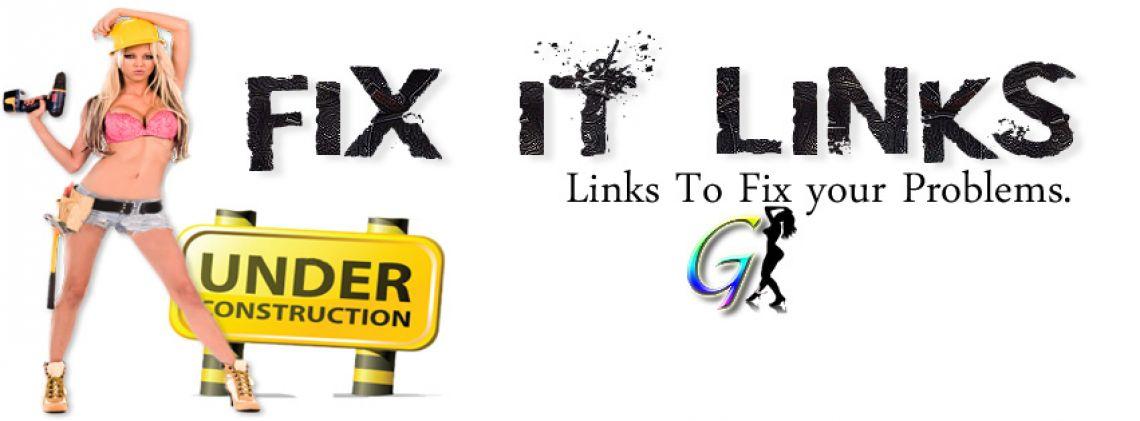 Fix It Links