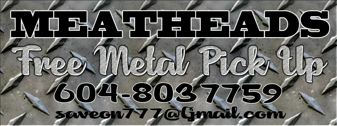 MeatHeads Free Metal Pick Up