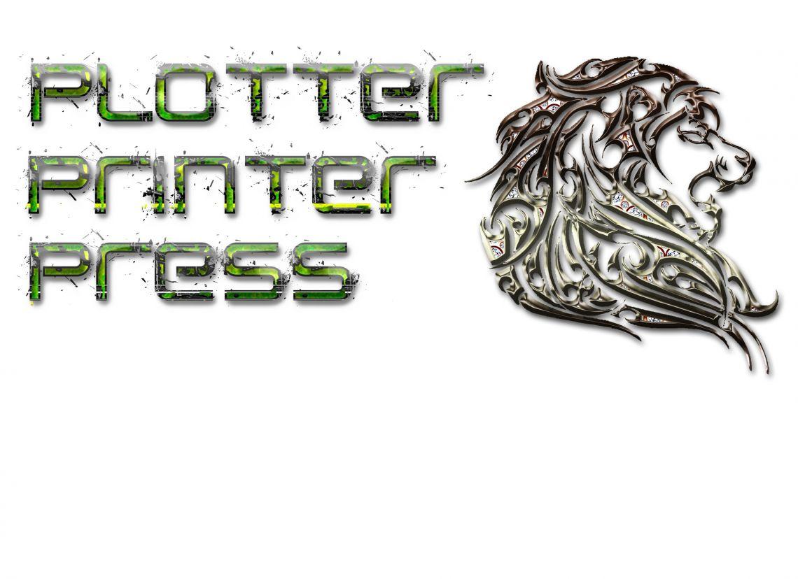 Plotter Printer & Press