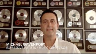 Michael Davenport - Music Supervisor - Expressive Artists