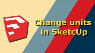 Change Units in SketchUp Warehouse