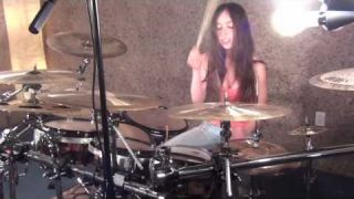 LED ZEPPELIN - IMMIGRANT SONG - DRUM COVER BY MEYTAL COHEN